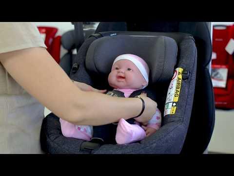 Maxi Cosi AxissFix Air - Child Car Seat Full Review