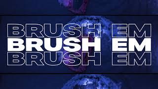 Pop Smoke - Brush Em feat. Rah Swish (Official Lyric Video)