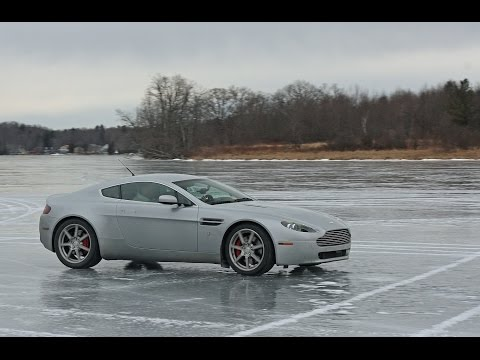 I Drove My Aston Martin On a Frozen Lake