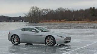 I Drove My Aston Martin On a Frozen Lake