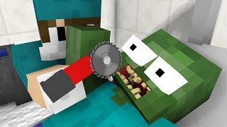Monster School: ZOMBIE AT DENTIST CHALLENGE - Minecraft Animation