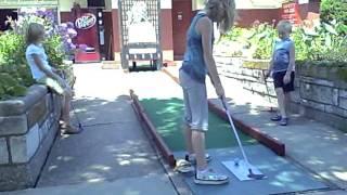 Bunny Hutch Mini Golf 8/9/2011 16