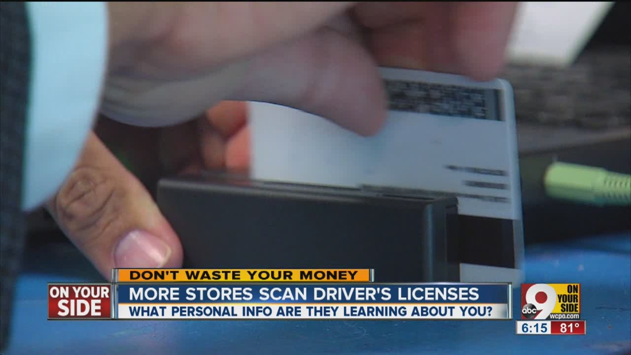 Store scans your license: What do they learn? | Video