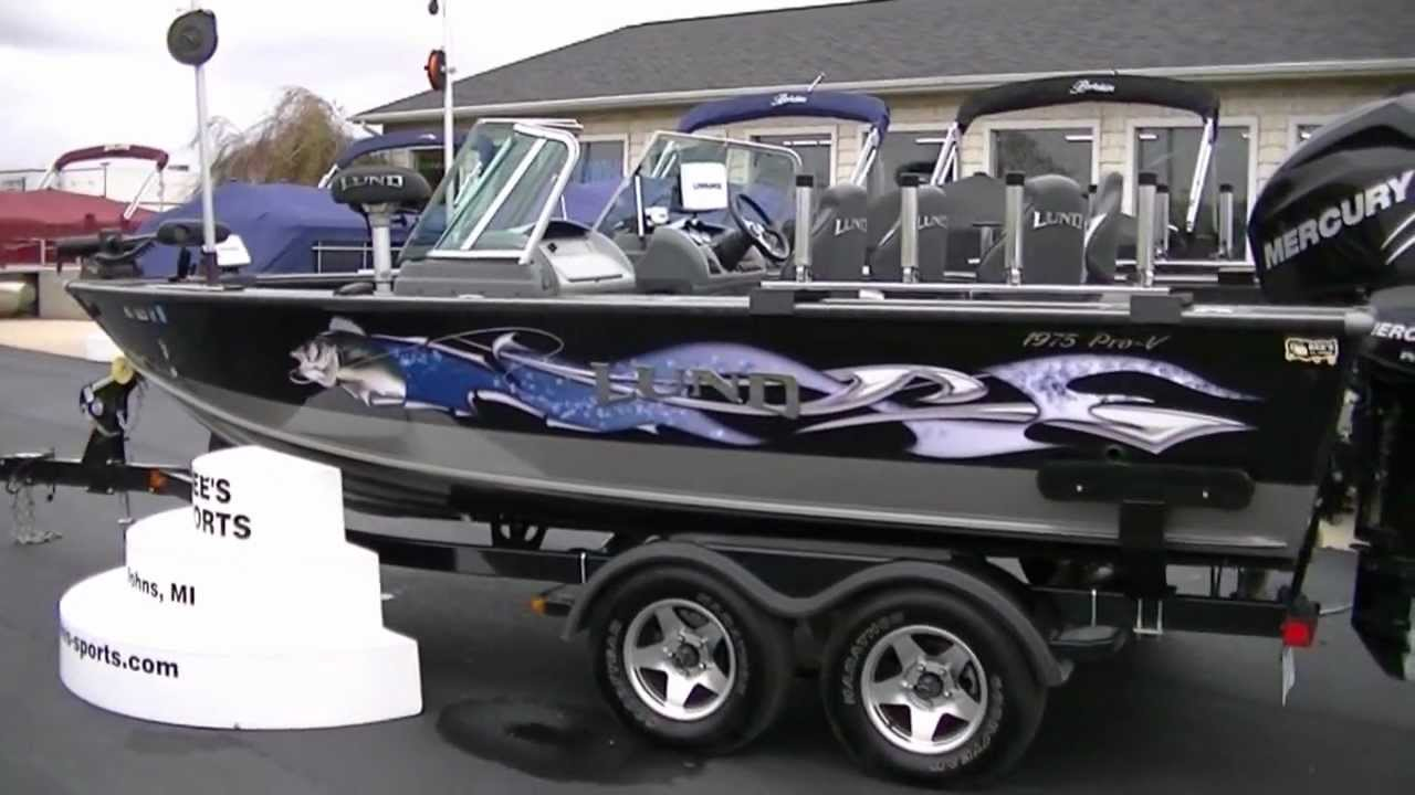 2010 Lund Boats 1975 Pro V Ifs Se Used Www Bees Sports Com 48 000 00 Sold