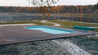 Пластиковый Бассейн для Дачи. Запуск Бассейна. Строительство бассейна ч 3