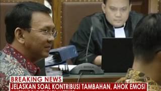 Basuki Tjahaja Purnama atau ahok emosi saat dicecar banyak pertanyaan - iNews Breaking News 05/09