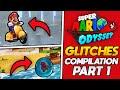 Super Mario Odyssey - GLITCH COMPILATION (MARIO ODYSSEY GLITCHES)