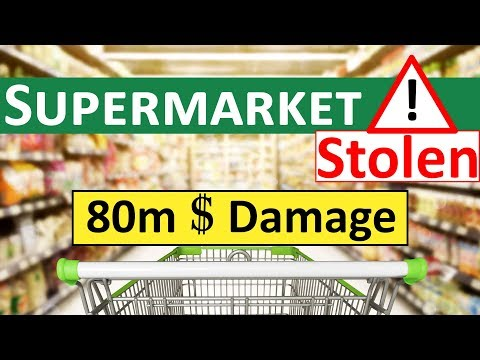 Supermarket Stolen (80m $ Damage) with Offshore Company