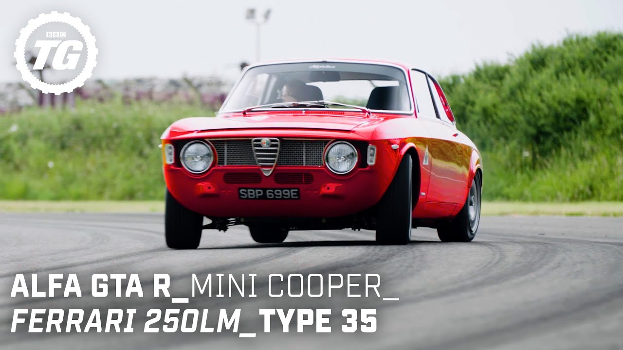Chris Harris Drives... Retro: Ferrari 250LM, Mini Cooper S, Alfaholics GTA-R | Top Gear