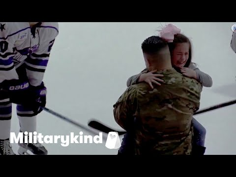 Little girl in tears when dad returns from Army | Militarykind