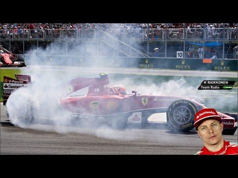 Kimi Räikkönen BEST team radio compilation EVER! #2