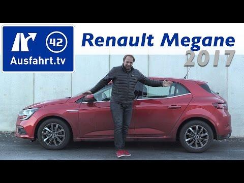 2017 Renault Megane ENERGY dCi 130 Intens - Fahrbericht der Probefahrt  Test   Review