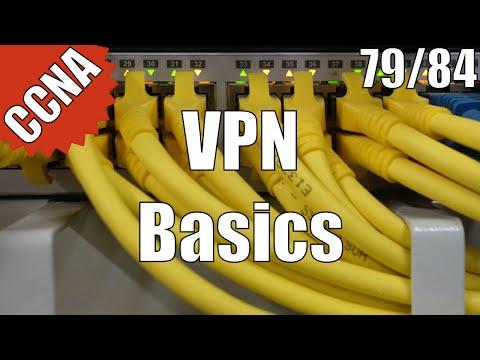 CCNA 200-120: VPN Basics 79/84 Free Video Training Course