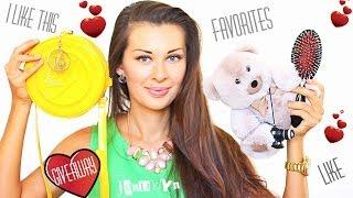 My Love ♡♡♡ | Фавориты + Новинки Покупки + КОНКУРС ( ЗАКРЫТ ) Женя Гейн