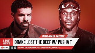 DRAKE IS LEBRON James SON AND PUSHA T WINs BEEF!!