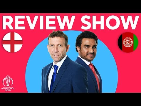 The Review - England vs Afghanistan   Morgan Goes Big   ICC Cricket World Cup 2019