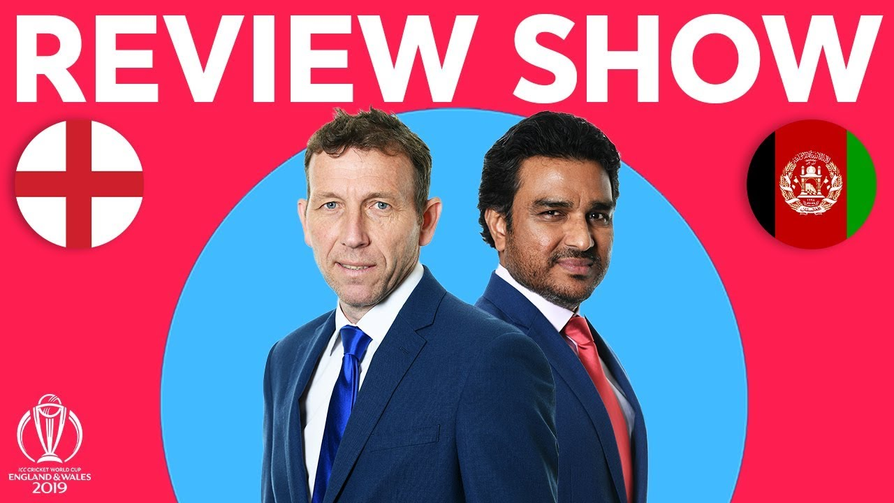 The Review - England vs Afghanistan | Morgan Goes Big | ICC Cricket World Cup 2019