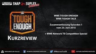 WTR Snap Suplex Shorties - WWE Tough Enough Talk Ep. 1 [HD Deutsch/German]