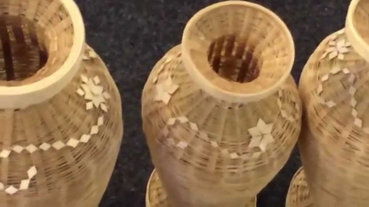 beautiful bamboo made home use items youtube