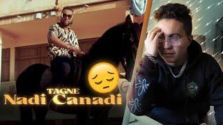 TAGNE - NADI CANADI (Clip officiel) (Reaction)