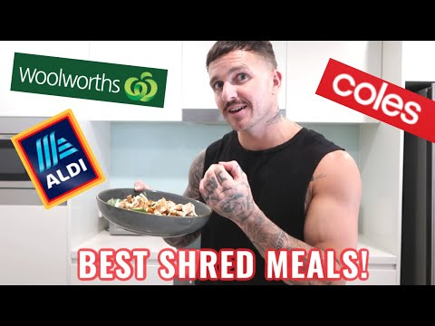 The 3 Best MEALS You Can Eat to Lose Bodyfat **Australian Supermarkets** (All under 400 Calories)