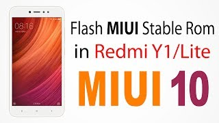 Redmi Y1 Flashing