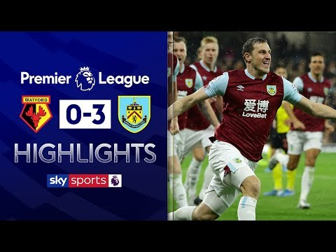 Burnley seal their first away win of the season! | Watford 0-3 Burnley | Premier League Highlights