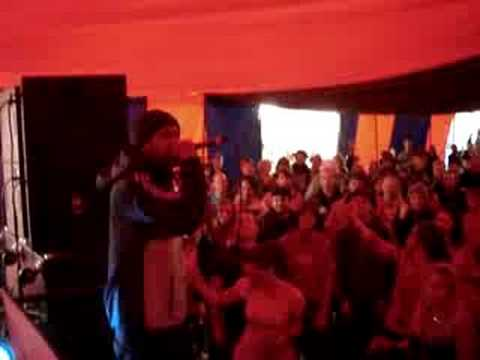 Hip Hop Karaoke GLASTONBURY - Put Your Hands Where  - Busta