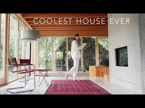 THE WORLD'S COOLEST HOUSE – Ireland Edition – (minimalist house tour)