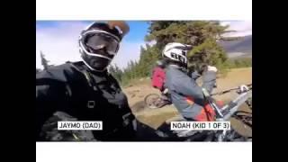 Jaymo and Noah MTB Grill Mount GoPro POV | Pro Standard Camera Accessories Inc.