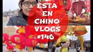 Año Nuevo Chino= Mas comida, Linternas y color rojo/ Eso fue raro de ver.... VLOG