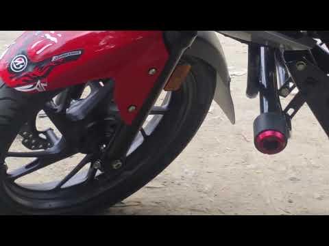 Adacte  del tapa rueda ala moto cb 160 honda