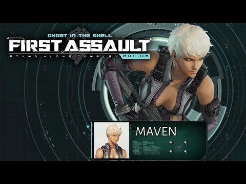 Ghost In The Shell Standalone Complex First Assault Online Maven Spotlight Trailer Youtube