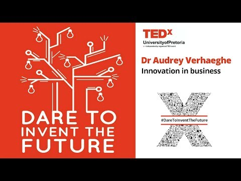 Dr Audrey Verhaeghe - Innovation in business