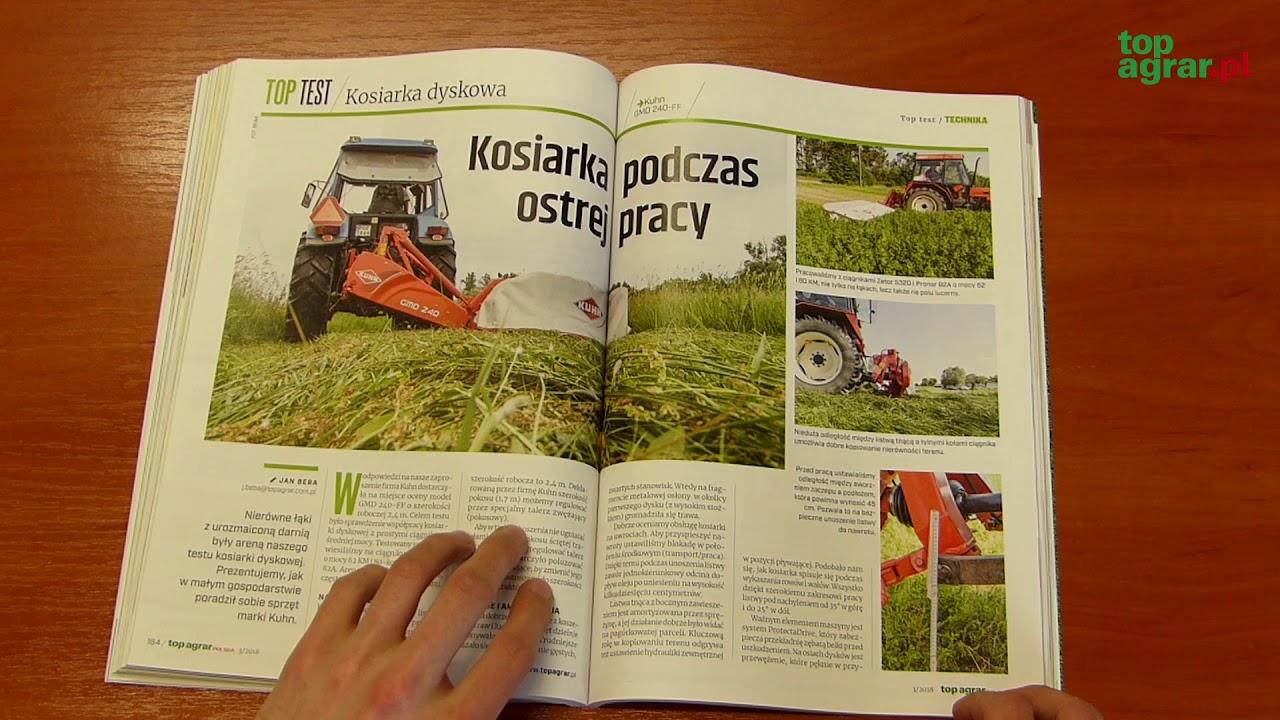 """Przeczytaj marcowe wydanie """"top agrar Polska""""!"""