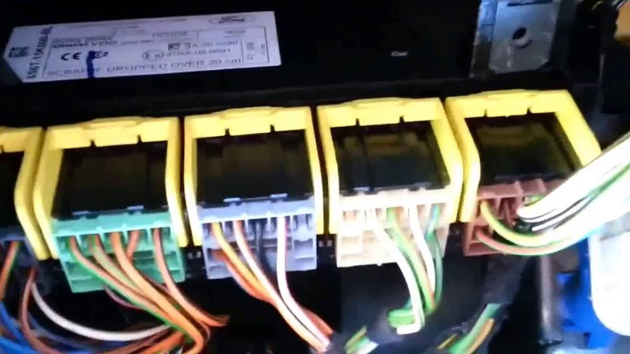 2007 Ford Fusion Fuse Box Diagram Ford Fiesta Mk6 Removing The Generic Electronic Module
