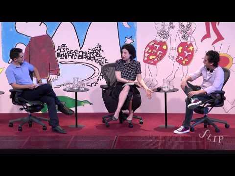 """Flip 2014 - """"Romance em dois atos"""", com Fernanda Torres e Daniel Alarcón (trecho)"""