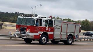 CSFD Engine 12 And AMR Medic 13 Responding Code 3