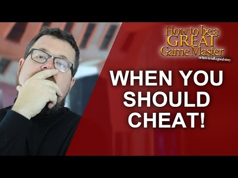 Great GM: When you should cheat and fudge rolls in your tabletop rpg game - Game Master Tips