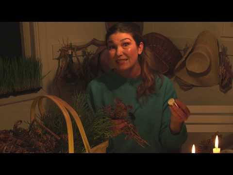 Gör egen krans och hemmagjord soja recept i Hemma hos Jessica v 47