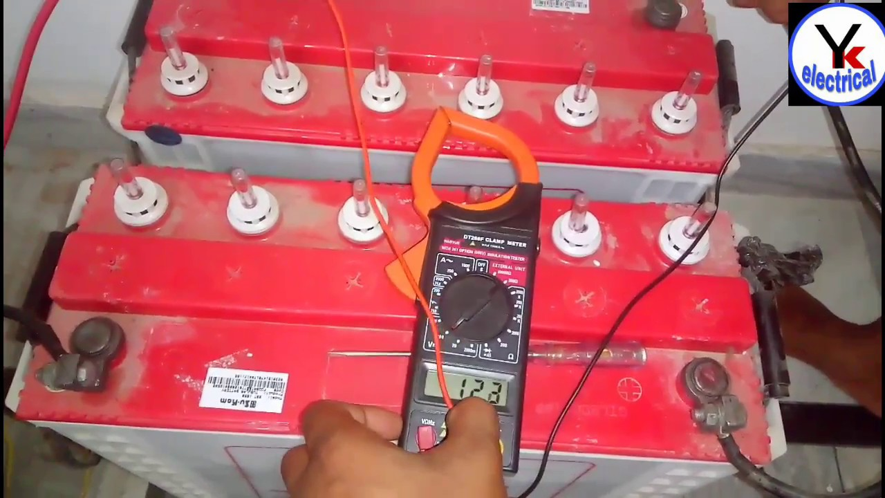 double battery inverter connection ups 2 connect yk electrical [ 1280 x 720 Pixel ]