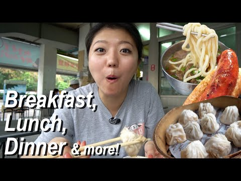 WHAT TO EAT IN TAIPEI! 24 Hours Taiwan Food Tour (Street Food & Restaurants)
