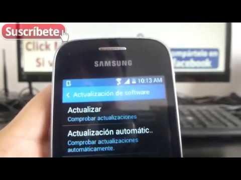 Samsung Galaxy Pocket 2 Como Actualizar Android a la Ultima Version español