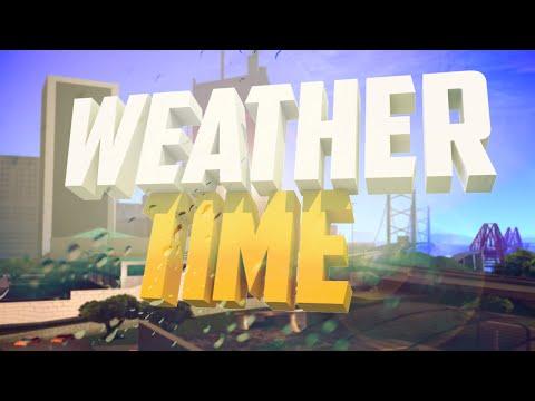 Изменение погоды и времени