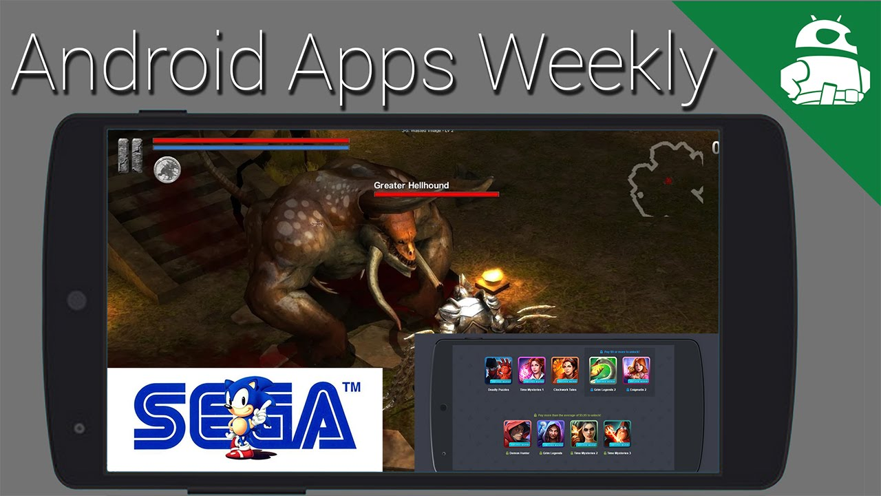 Sega removes games, Spotify gets video, Google I/O could be fun - Android  Apps Weekly