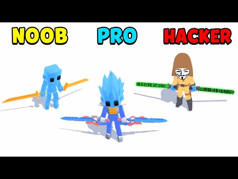 NOOB Vs PRO Vs HACKER - Samurai Flash