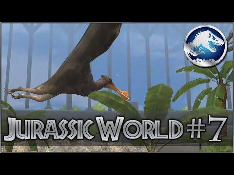 PTEROSAUR ARIAL ASSAULT BATTLES    Jurassic World the Game - Episode #7