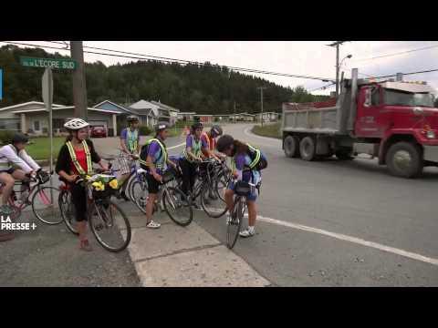 HEC Montréal - Tour du Québec - LaPresse+ L'université à vélo