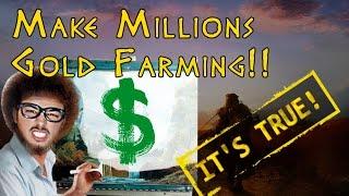 GOLD FARMING! Skies MMORPG! Easy Money Borias quest!