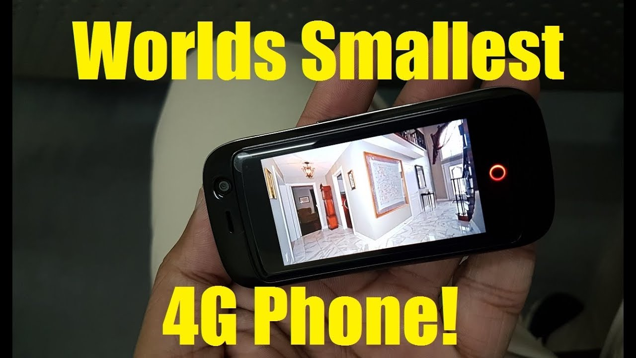 Jelly Pro - Worlds Smallest 4G Mobile Phone - Unboxing and First Look